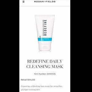 Rodan + Fields Redefine Cleansing Mask